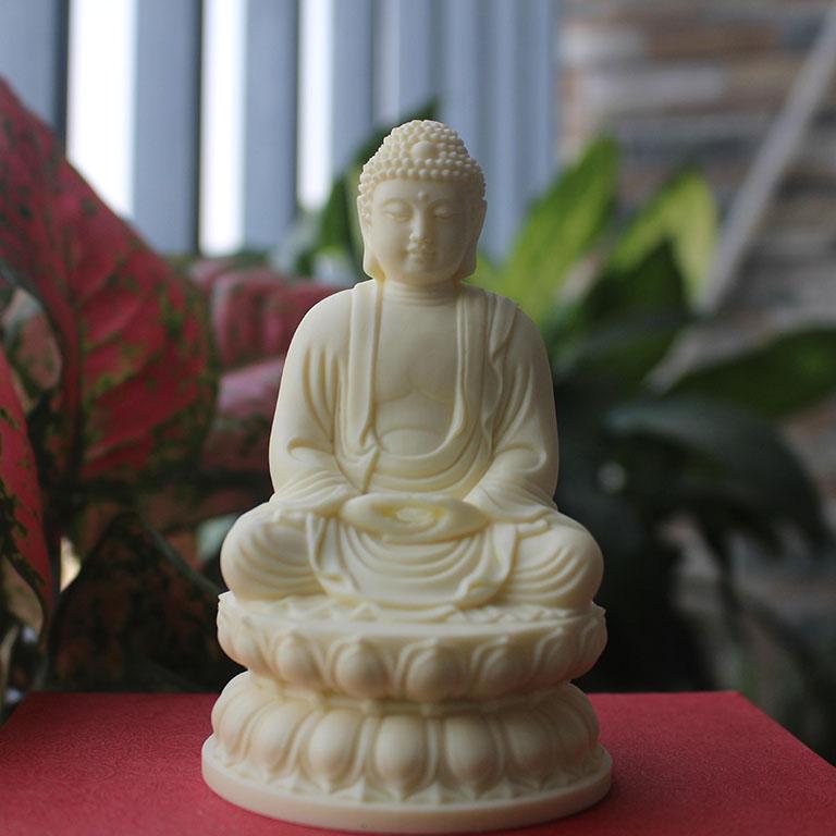Tượng Phật Thích Ca để xe ô tô hợp mệnh Thổ