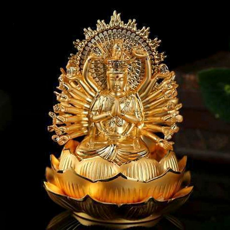 Tượng Phật Quan Âm nghìn mắt, nghìn tay để xe ô tô đẹp
