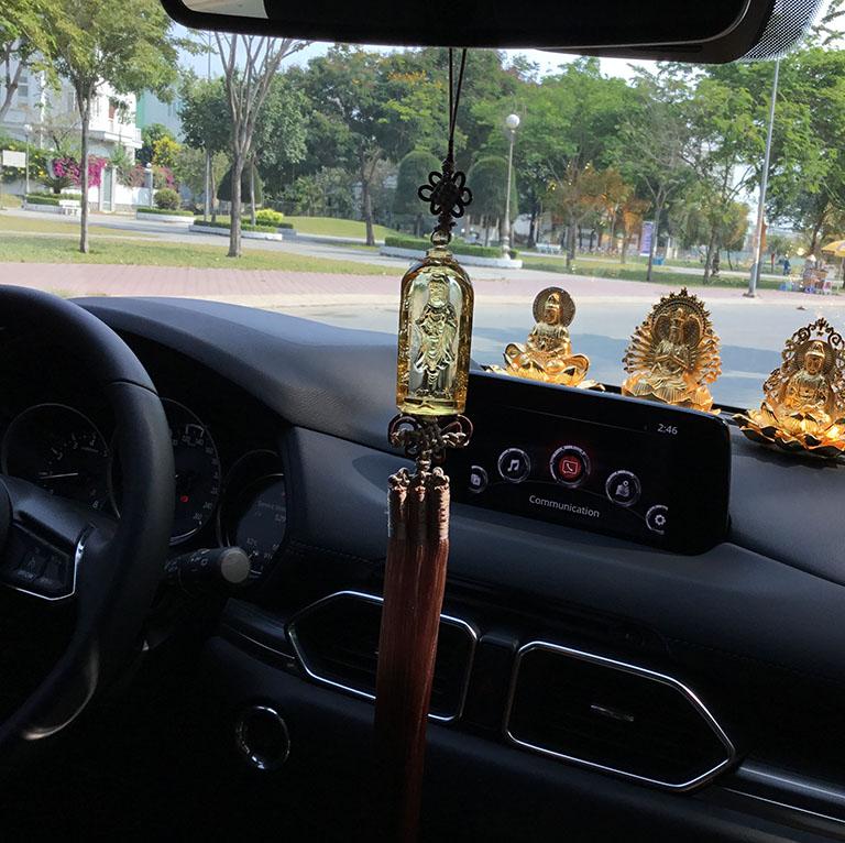 Dây treo xe ô tô đẹp tại Hà Nội
