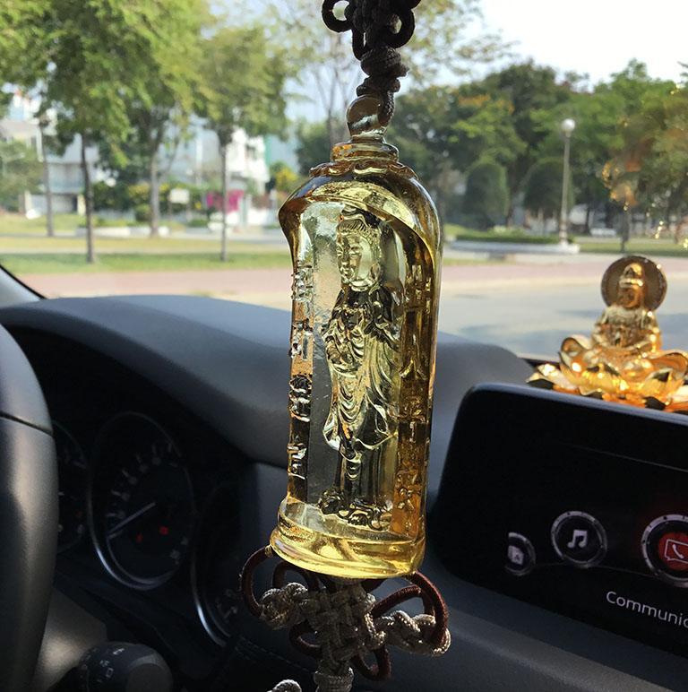 Dây treo xe ô tô tượng Phật Quan Âm đẹp và độc tại Tp Hồ Chí Minh