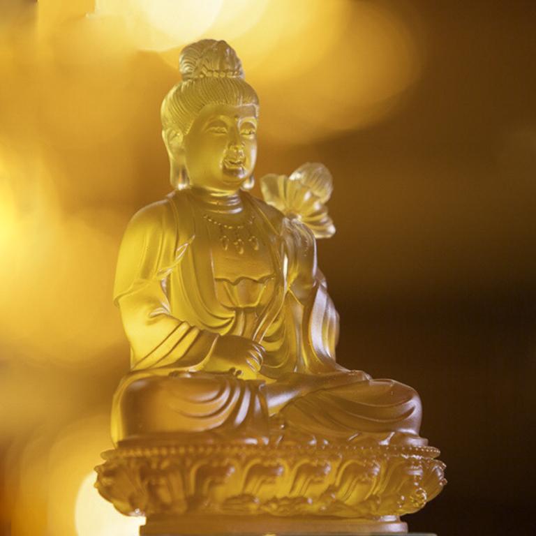 Tượng Phật Đại Thế Chí để xe ô tô đẹp