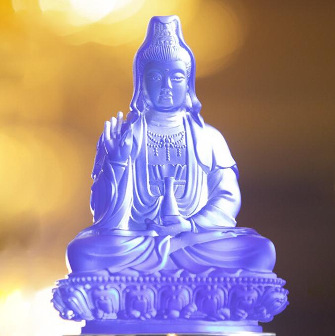 Tượng Phật Quan Thế Âm Bồ tát để xe ô tô cao cấp