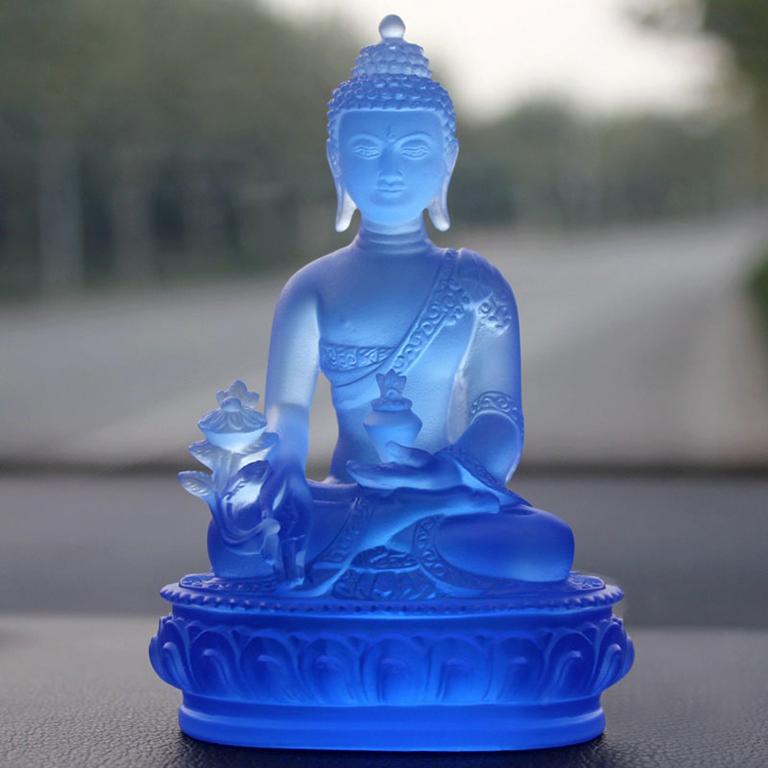 Tượng Phật Dược Sư xe ô tô