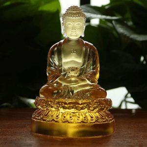 Tượng Phật A Di Đà để xe oto