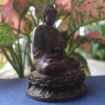 Tượng Phật A Di Đà để xe ô tô bằng đồng thau hợp tuổi hợi