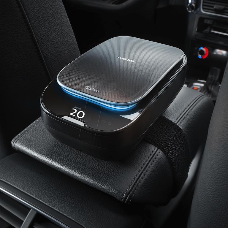 Máy lọc không khí giúp xe ô tô có không khí trong lành hơn