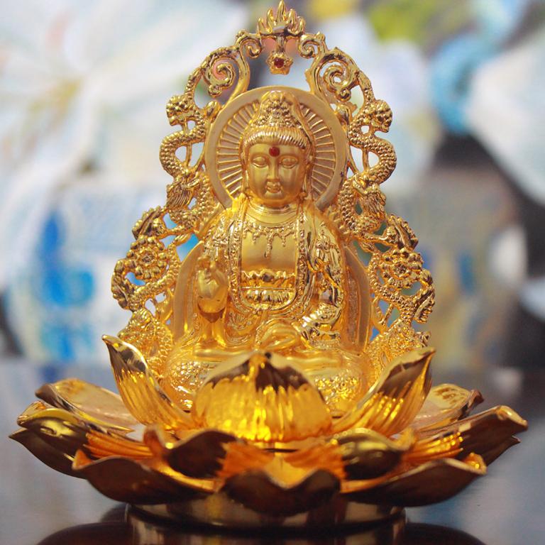 Tượng Phật để xe ô tô giá phù hợp