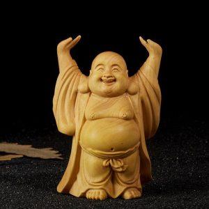 Tượng Phật Di Lặc để xe ô tô, bàn làm việc đẹp và cao cấp