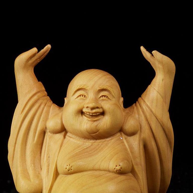 Tượng Phật Di Lặc để xe ô tô, bàn làm việc đẹp
