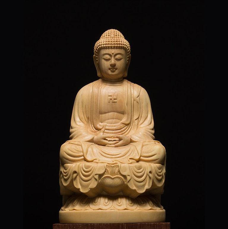 Tượng Phật A Di Đà để xe ô tô đẹp