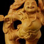 Tượng Phật Di Lặc để xe ô tô hoặc bàn làm việc may mắn tại tp hcm