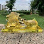 Tượng Phật Di Lặc kéo bao tiền để ô tô cao cấp