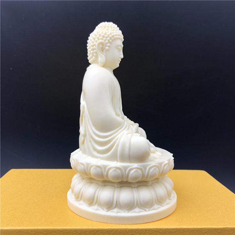 Tượng Phật Thích Ca Mâu Ni để xe ô tô bằng Ngà tại Hà Nội
