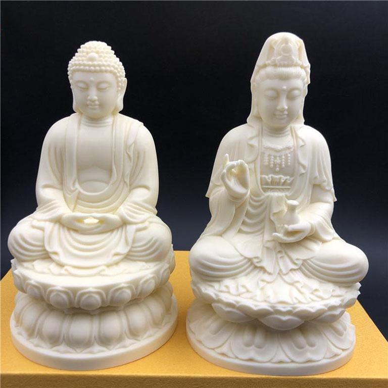 Tượng Phật bằng đá Ngà