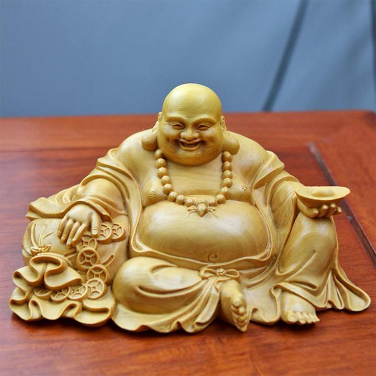 Tượng Phật Di Lặc để xe ô tô cao cấp tại tp hồ chí minh được khách hàng mua nhiều