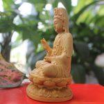 Tượng Phật Quan Âm Bồ tát để xe ô tô đẹp
