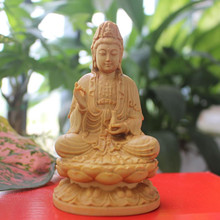 Tượng Phật Quan Âm Bồ tát để xe ô tô tại tp Hồ Chí Minh