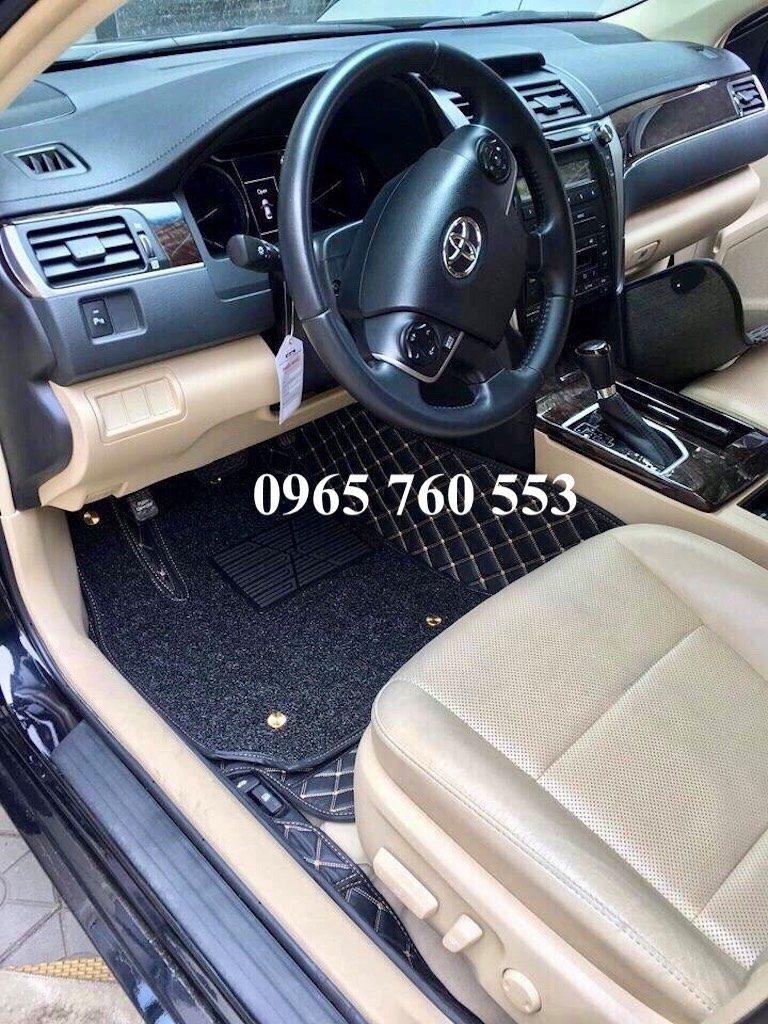 Thảm lót sàn ô tô xe Camry đẹp và cao cấp