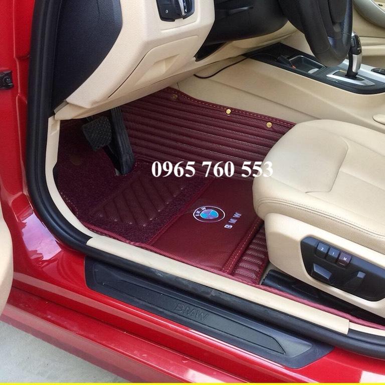 Thảm lót sàn ô tô BMW 320i đẹp và cao cấp