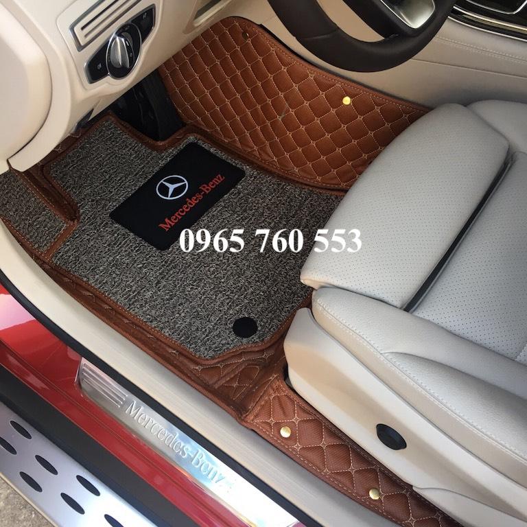 Thảm lót sàn ô tô Mercedes đẹp và cao cấp