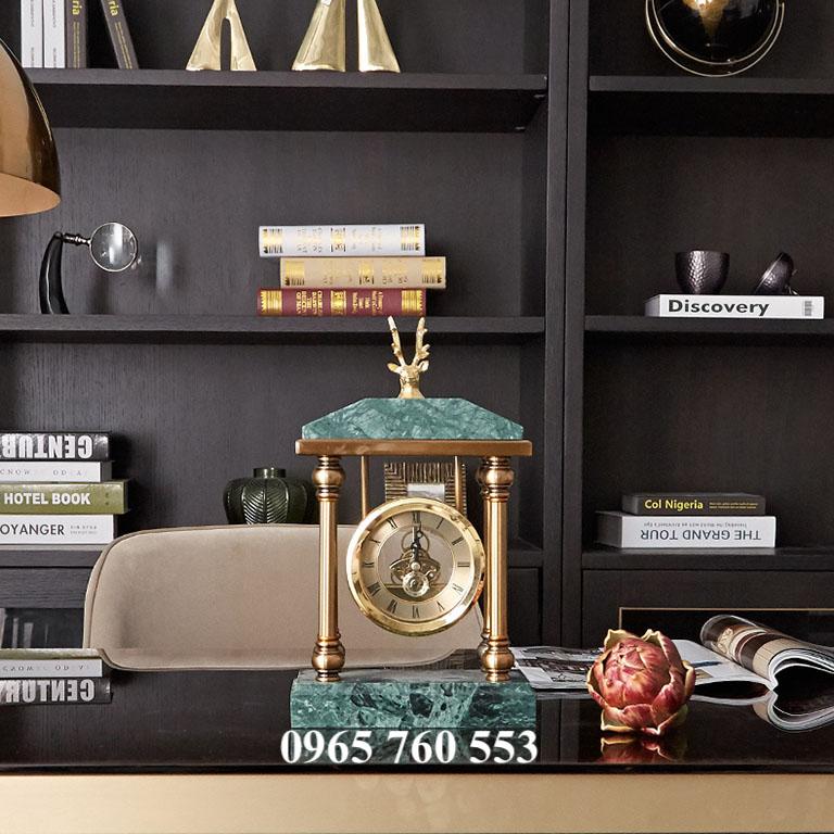 Mẫu đồng hồ để bàn làm việc - Mã DHDB 005