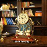 Đồng hồ quả lắc để bàn làm việc cực sang trọng