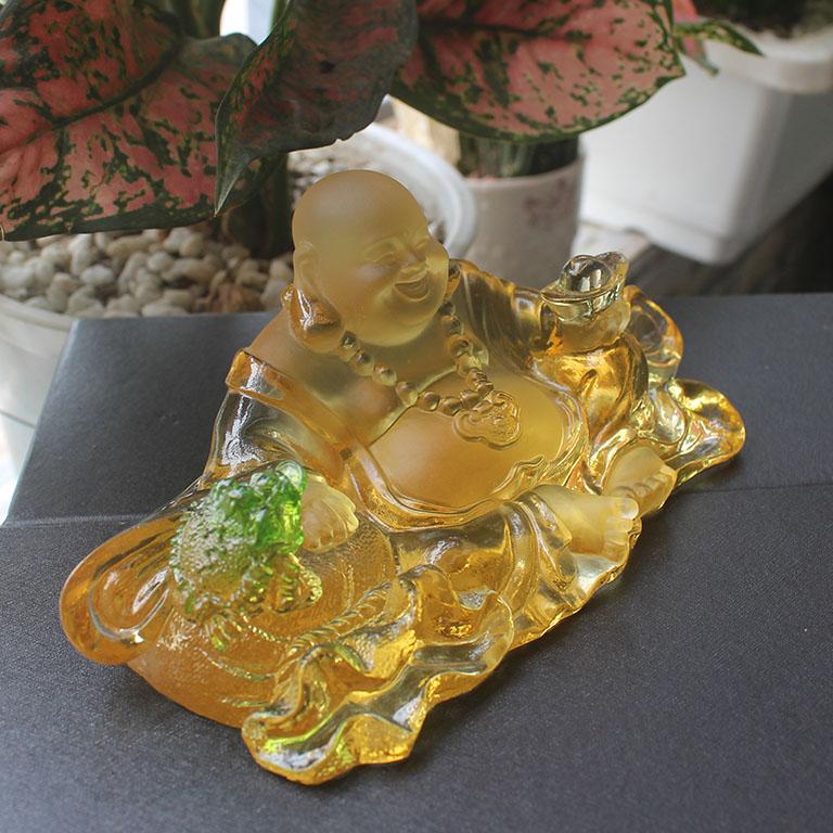 Tượng Phật Di Lặc, cóc thiềm để xe ô tô cao cấp