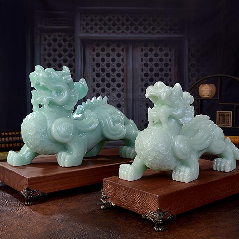 Cặp tượng Tỳ Hưu Phong Thủy