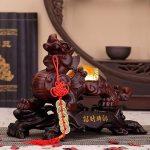 Tượng tỳ hưu phong thuỷ bằng gỗ đỏ được mua nhiều tại Hà Nội