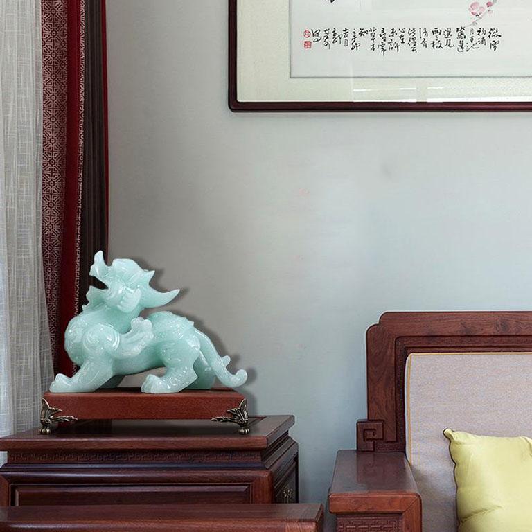 Tượng Tỳ Hưu Phong Thủy trang trí phòng khách