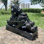 Tỳ hưu đá màu đen tại Hà Nội
