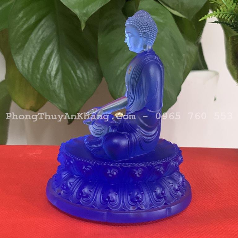Tượng Phật A Di Đà để xe 7 chỗ