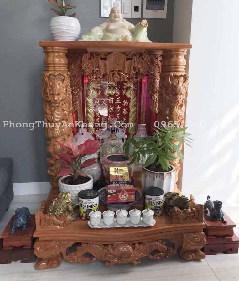 Tỳ hưu đồng để bàn thờ thần tài - ông địa