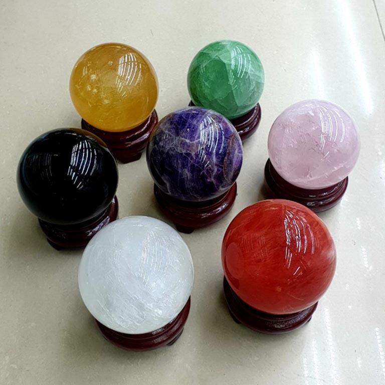 Tác dụng của quả cầu phong thuỷ theo màu sắc