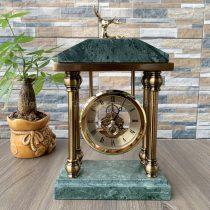 Đồng hồ đá cẩm thạch để bàn làm việc