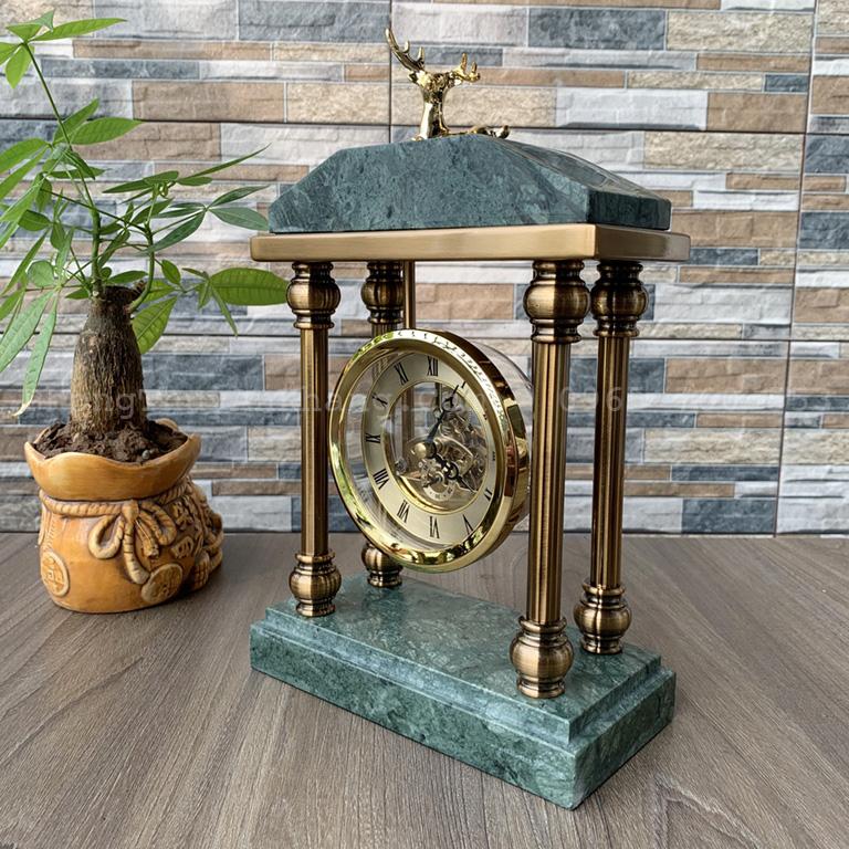 Đồng hồ quả lắc decor bàn làm việc