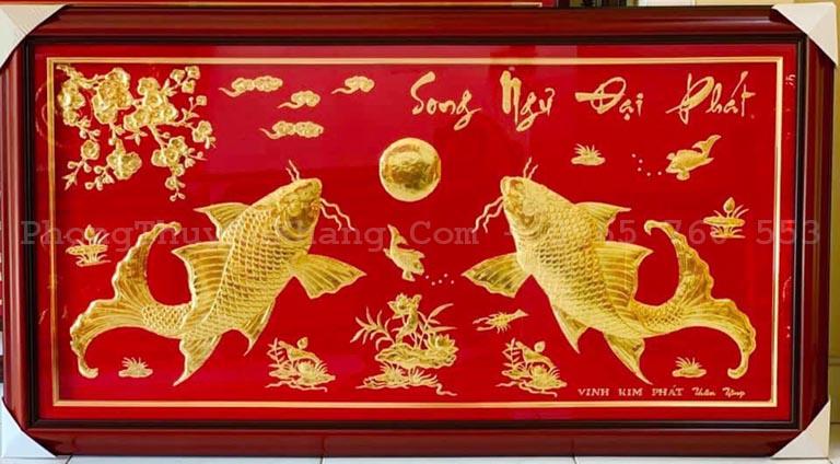 Khánh vàng song ngư đại phát mừng khai trương