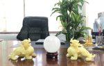 Tỳ hưu phong thuỷ quà tặng để bàn làm việc cao cấp