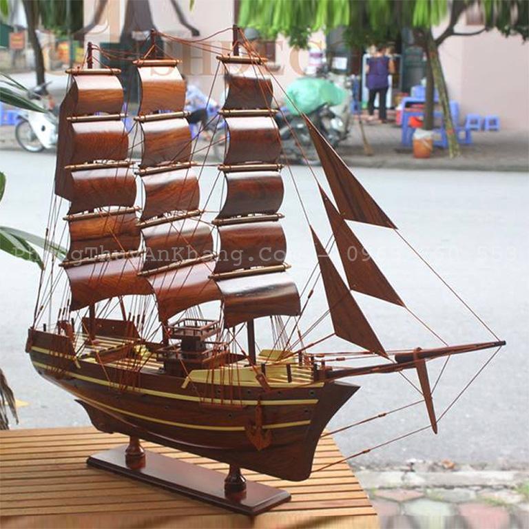 Mô hình thuyền buồm đặt ở đâu là tốt nhất