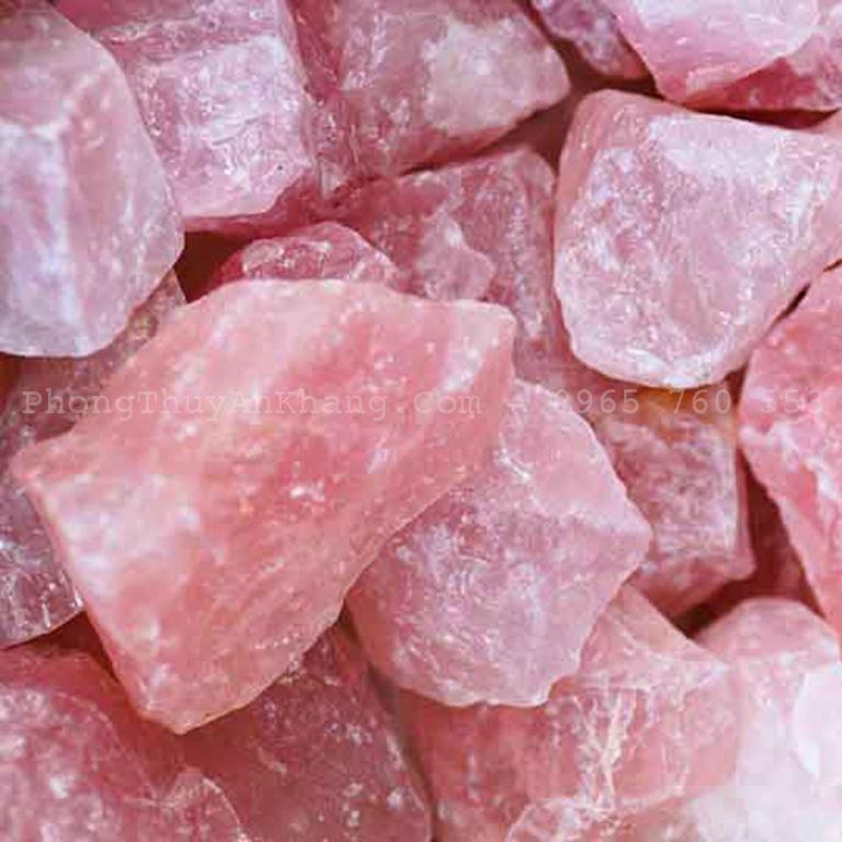 Tác dụng đá thạch anh hồng