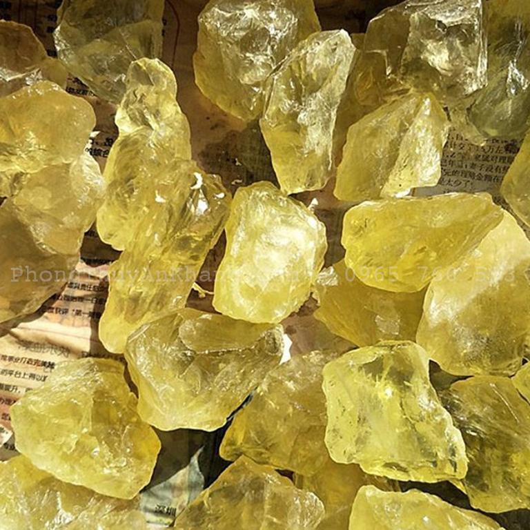 Tác dụng của đá thạch anh vàng trong phong thuỷ