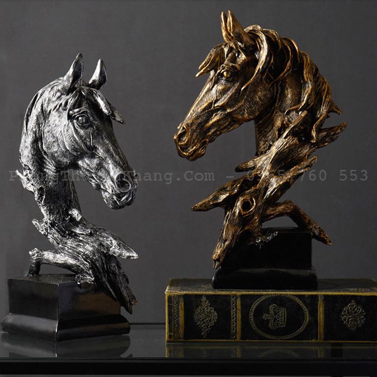 tượng đầu ngựa để bàn làm việc cao cấp