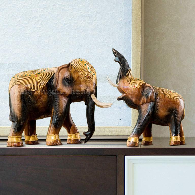 Ý nghĩa của tượng voi phong thuỷ