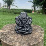 Cóc ngậm tiền đá marbe đen tại Hà Nội