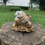 Cóc ngậm tiền gốm sứ bát tràng tại Hà Nội