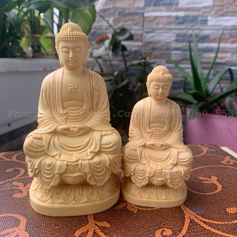 Tượng Phật A Di Đà để bàn làm việc hợp tuổi Quý Hợi 1983