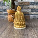 Tượng Phật Thích Ca để xe ô tô cao 12cm