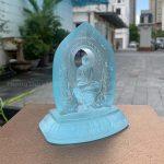 Tượng Phật Dược Sư để xe ô tô cao 12cm
