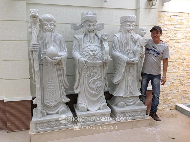 Đôi nét về tượng tam đa bằng đá tự nhiên