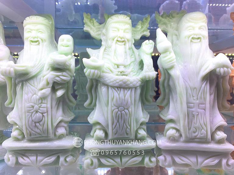 Tượng Tam Đa Phúc Lộc Thọ đá xanh Đà Nẵng